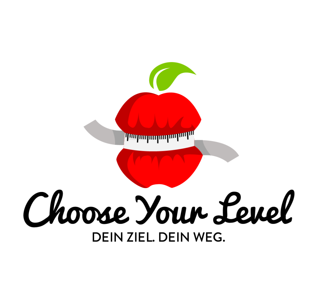 ernährungskonzept choose your level