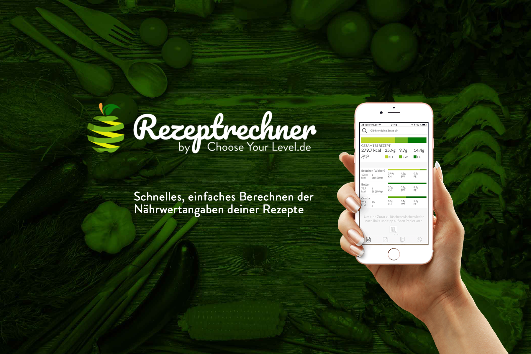 Broteinheiten App