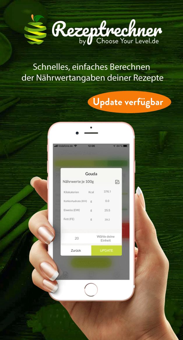 Kohlenhydrate Berechnen & Diabetes App