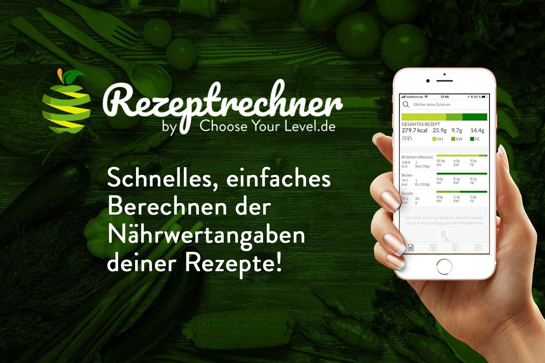 Kohlenhydrate Rechner App