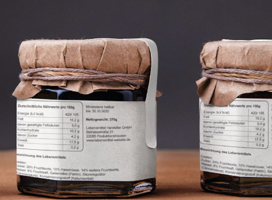Nährwerttabelle für Marmelade