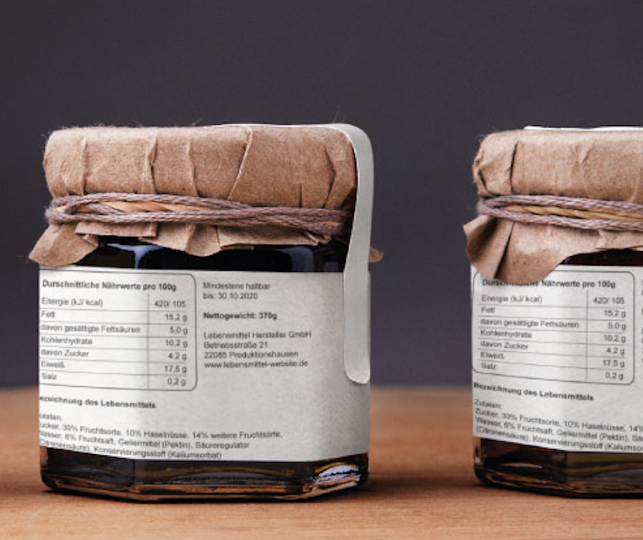 Nährwerte berechnen für Marmelade