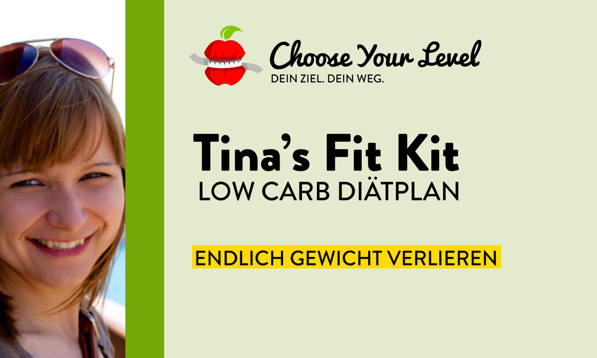 Low Carb Diätplan Tinas Fit Kit