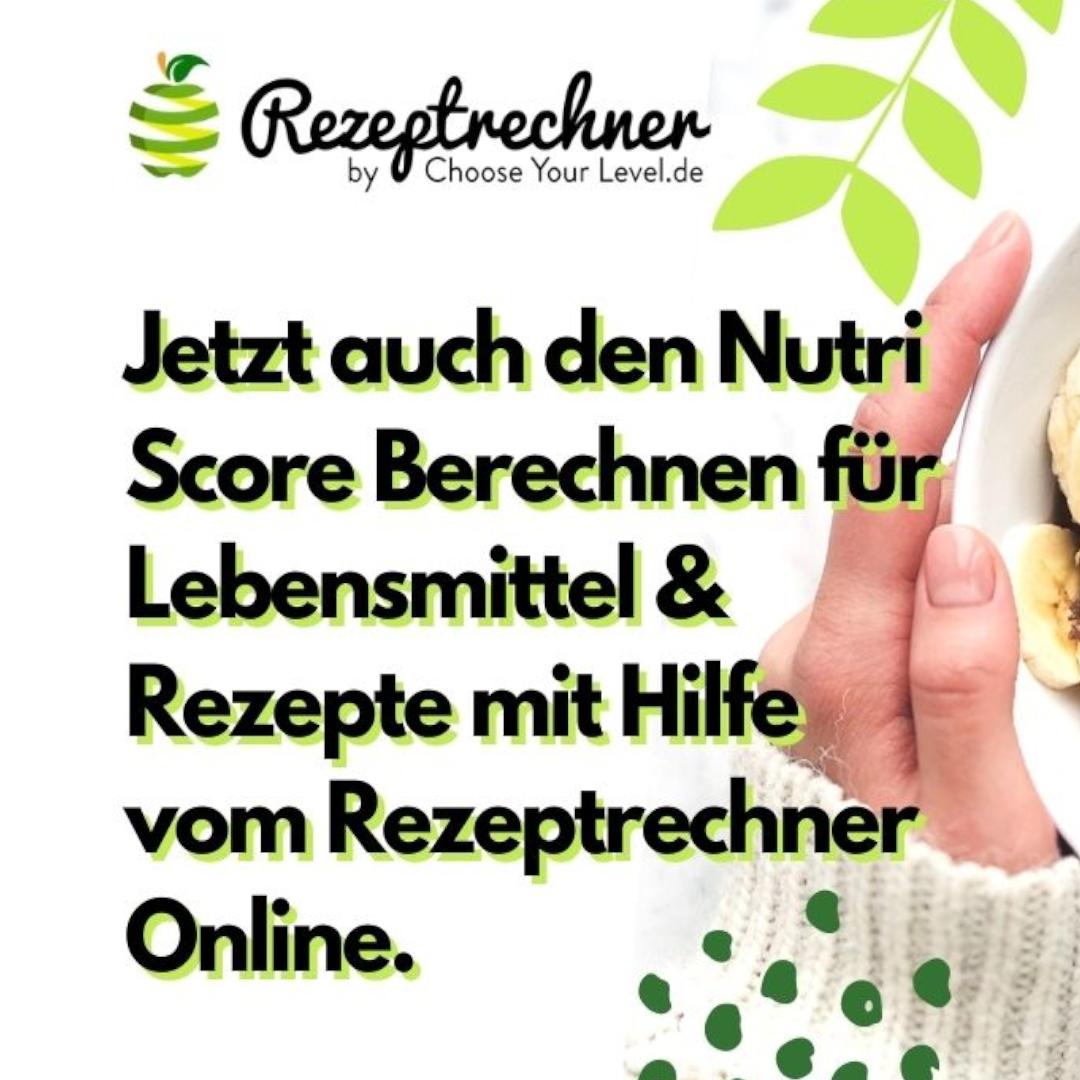 Nutri Score Rechner