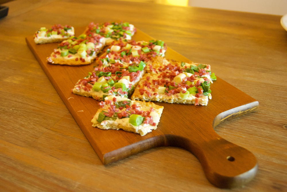 low carb flammkuchen ohne mehl